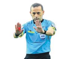 Kayseri-G.Saray maçını Cüneyt Çakır yönetecek