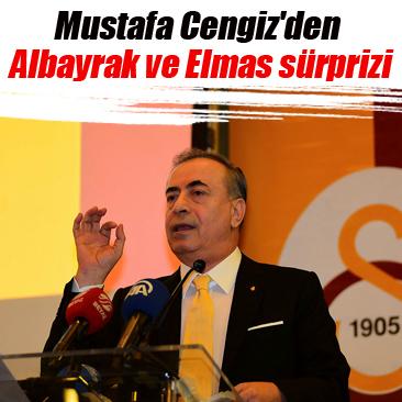 Mustafa Cengiz'den Albayrak ve Elmas sürprizi