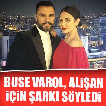 Buse Varol'dan Alişan'a 14 Şubat sürprizi