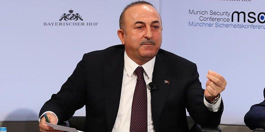 Dışişleri Bakanı Çavuşoğlu'ndan Arap Birliği Genel Sekreteri'ne tepki