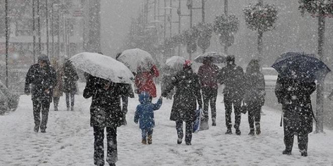 Meteoroloji, Van için kar uyarısı yaptı