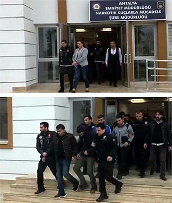 Antalya ve İstanbul'da uyuşturucu operasyonu: 14 gözaltı