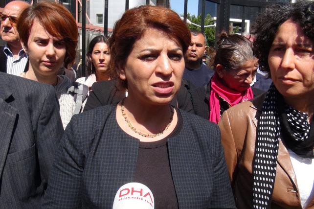 HDP'li kadın vekilden polislere
