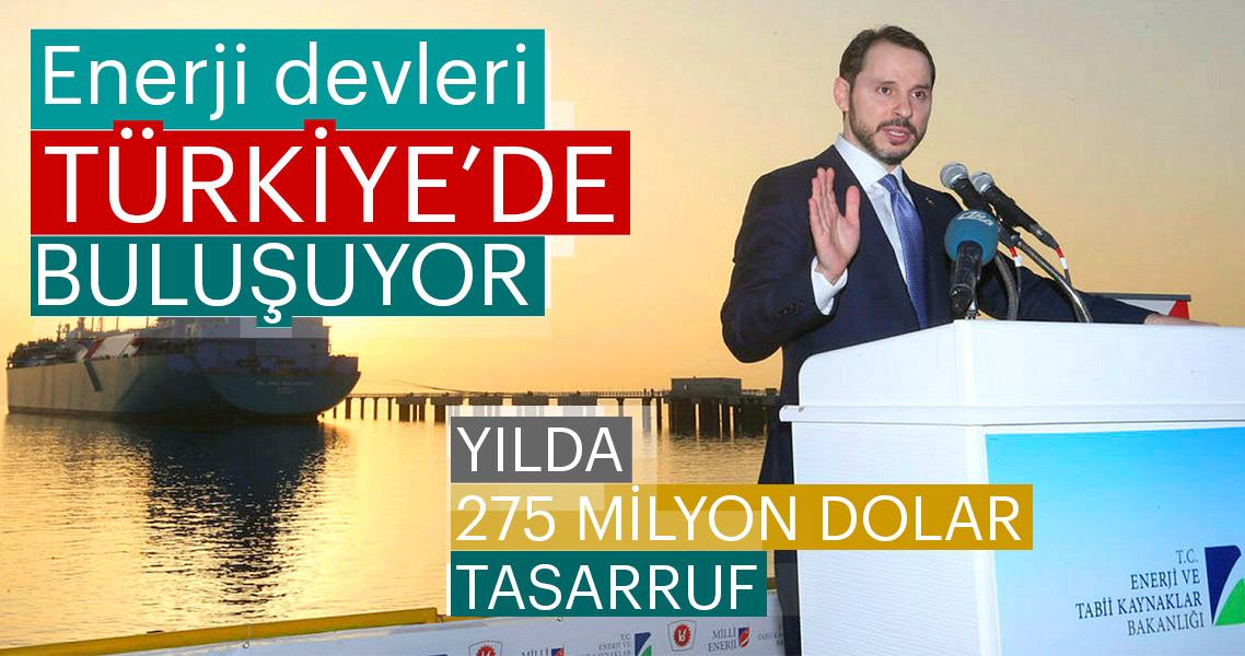 Enerji devleri Türkiye'de buluşuyor