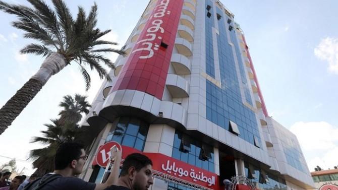 Gazze'deki başsavcılık, saldırı ile ilgili bilgi vermeyen Vataniya Mobil'in ofisini kapattı