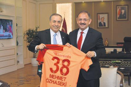 Galatasaray'dan Başkent ziyareti