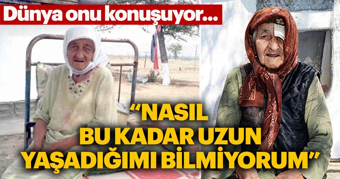 Dünya'nın en yaşlı kadını İstanbullu