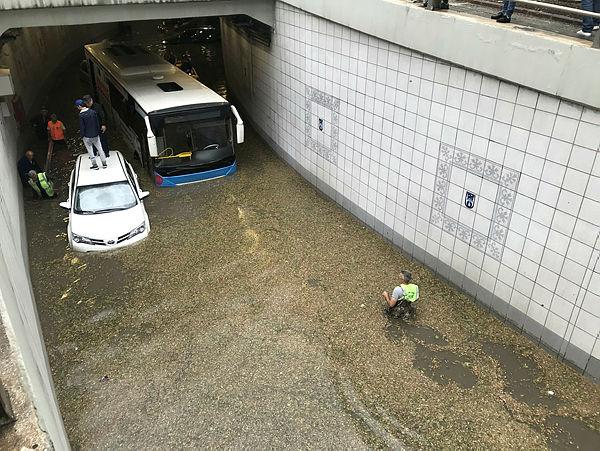 Ankara'da aşırı yağış