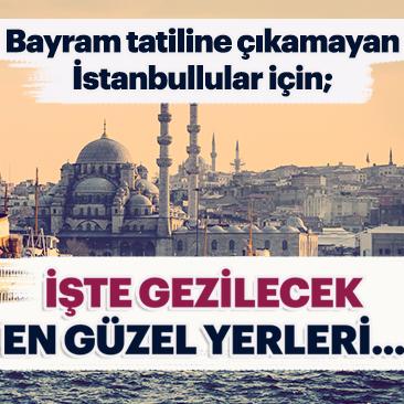 İstanbul'un gezilecek yerleri