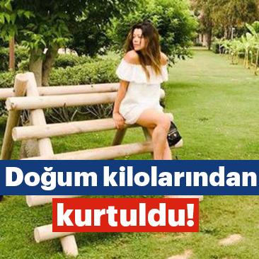 Özcan Deniz'in eşi Feyza Aktan kilolarından kurtuldu