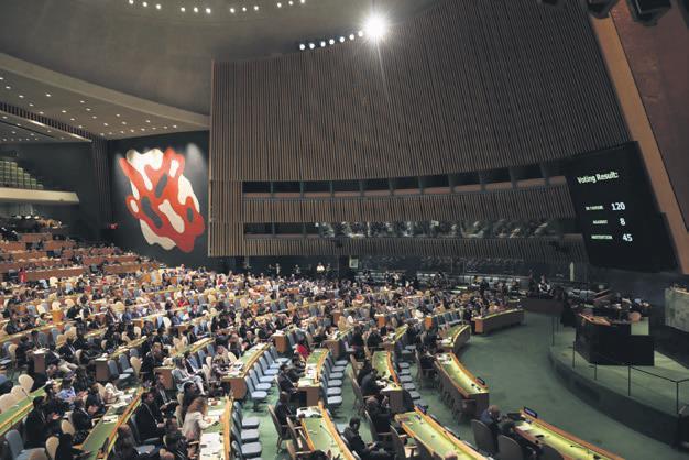 BM den tarihi Filistin kararı