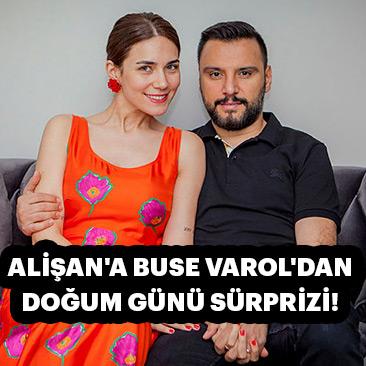 Alişan'a Buse Varol'dan doğum günü sürprizi!