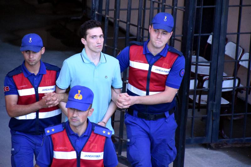 Yunan askerlerinin tutuklama inceleme duruşmasından karar çıktı