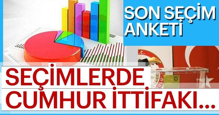 24 Haziran seçimleri öncesi son anketler! Cumhur İttifakı'nın ve Ak Partinin oy oranı