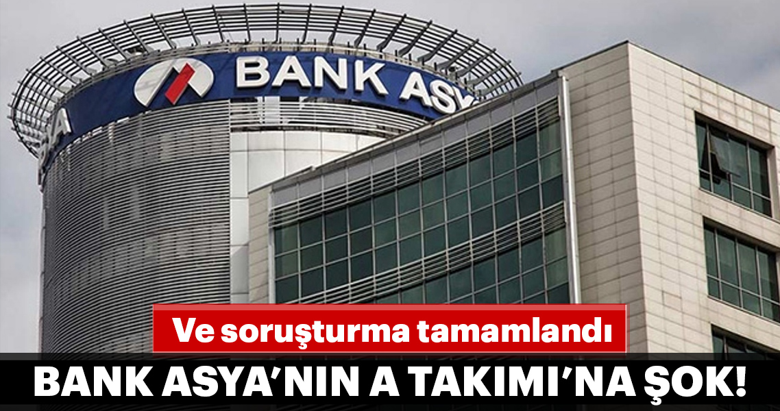 Bank Asya'nın A Takımı'na dava