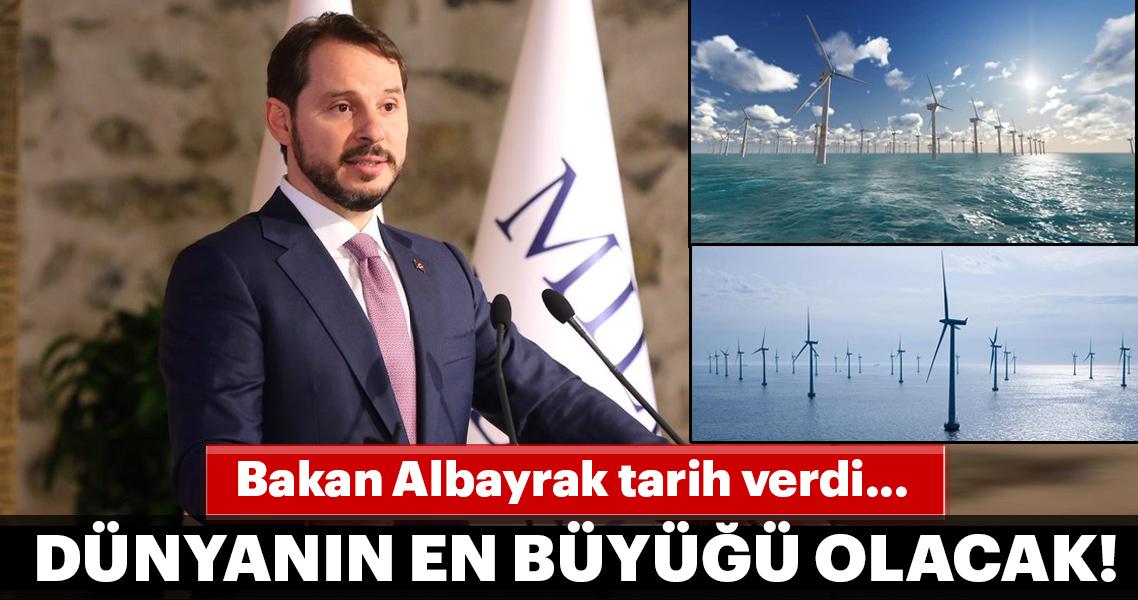 Deniz üstü rüzgâr santrali ihalesi ekimde yapılacak