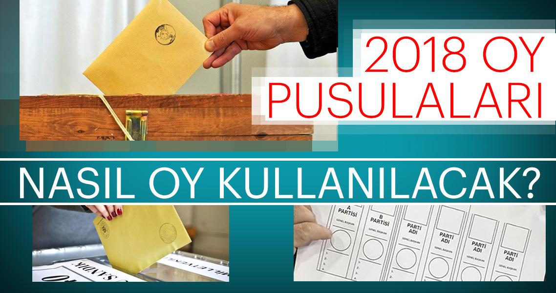 Seçimde oy nasıl kullanacağım? 24 Haziran 2018 oy pusulası - Oy verme işlemi saat kaça kadar?