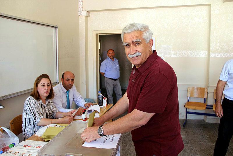 41 yıl sonra ilk kez oy verdi