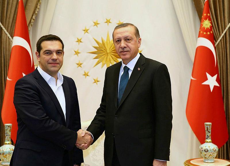Yunanistan Başbakanı Çipras'tan, Cumhurbaşkanı Erdoğan'a tebrik