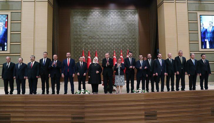 Son dakika Açıklanan yeni kabine Türkiye tarihine geçti