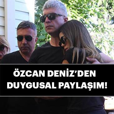 Babası vefat eden Özcan Deniz Cumhurbaşkanı Erdoğan'a teşekkür etti