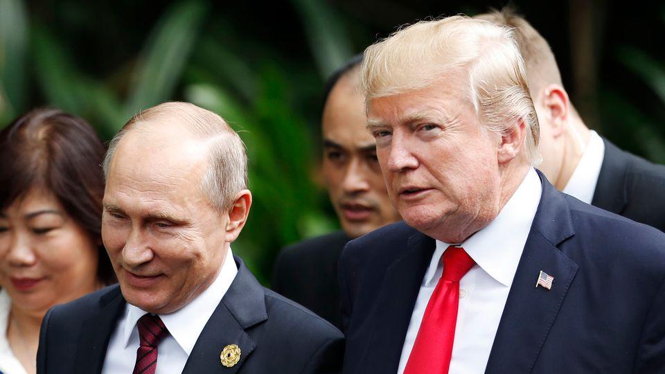Trump: Putin ile görüşmemizden kötü birşey çıkmaz