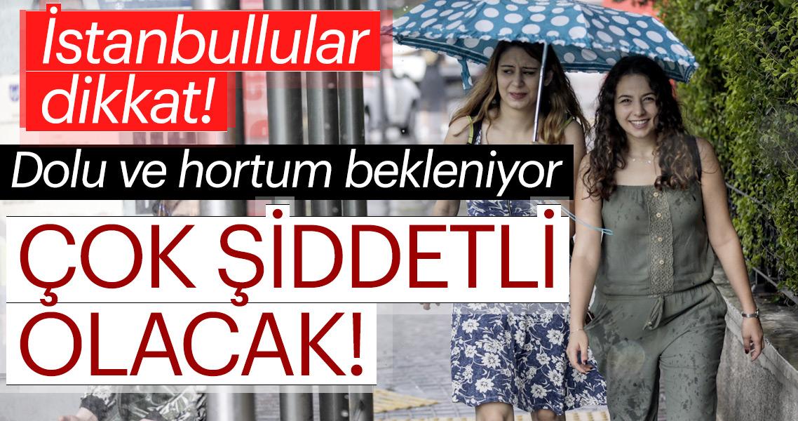Son dakika haber: Meteoroloji'den şiddetli yağış ve hava durumu uyarısı! İstanbul'da çok etkili olacak...