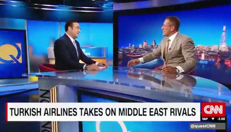 THY Yönetim Kurulu Başkanı İlker Aycı, CNN Internatıonal'a konuk oldu