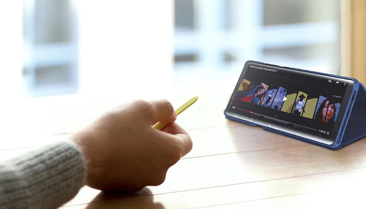 Samsung Galaxy Note 9'un ilk güncellemesi yayınlandı