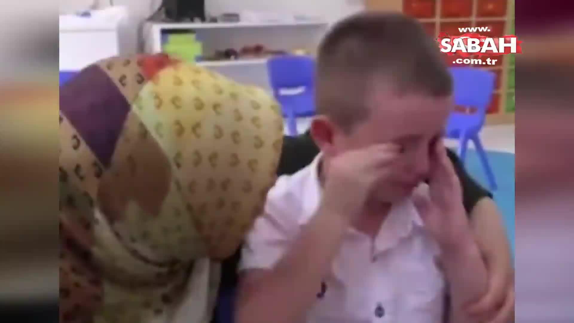 Okulun ilk günü çocuğun ağlaması