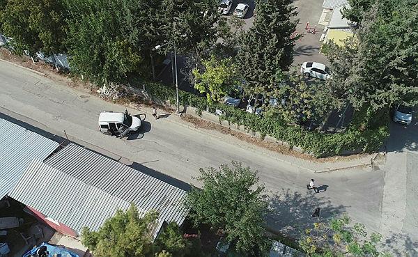 Hapishaneden kaçan firari drone ile yakalandı