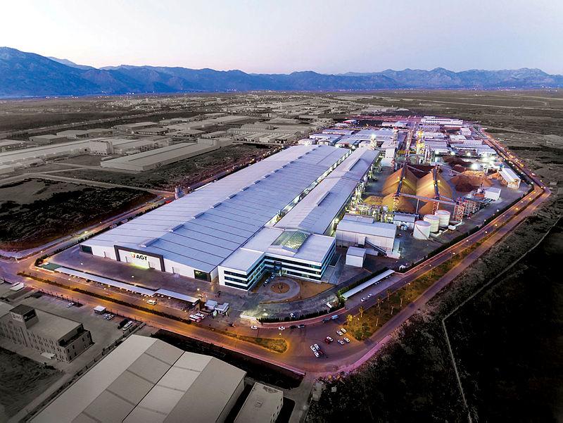 AGT'den 130 milyon Euro'luk fabrika yatırımı