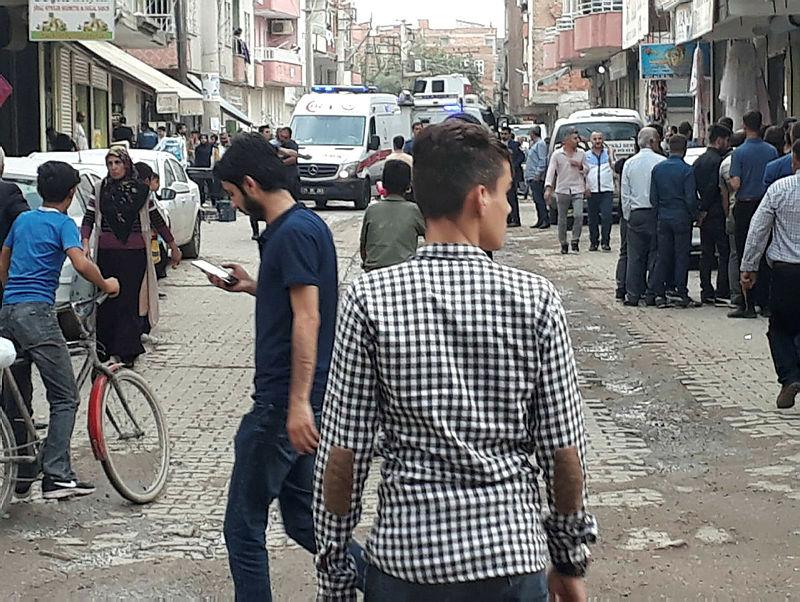Diyarbakır ın Bismil ilçesinde silahlı kavga
