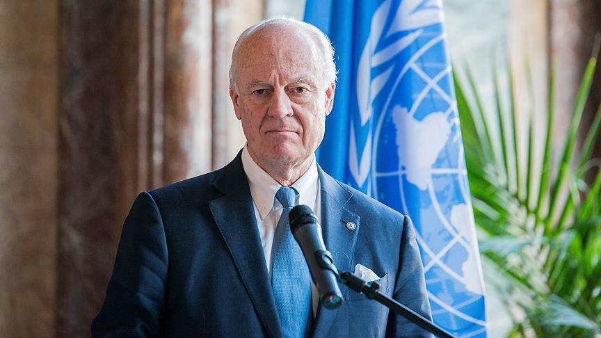 BM Suriye Özel Temsilcisi Mistura'dan istifa açıklaması