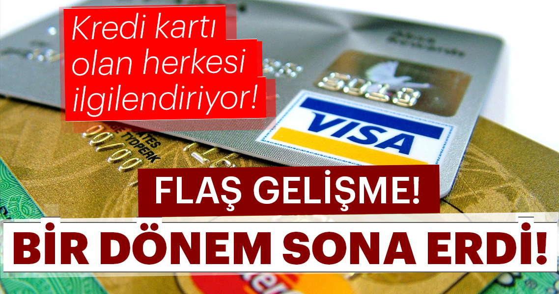 BDDK'dan son dakika açıklaması geldi! Kredi kartı olan herkesi ilgilendiriyor!