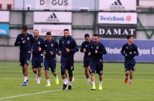Fenerbahçe Anderlecht maçı hazırlıklarına başladı