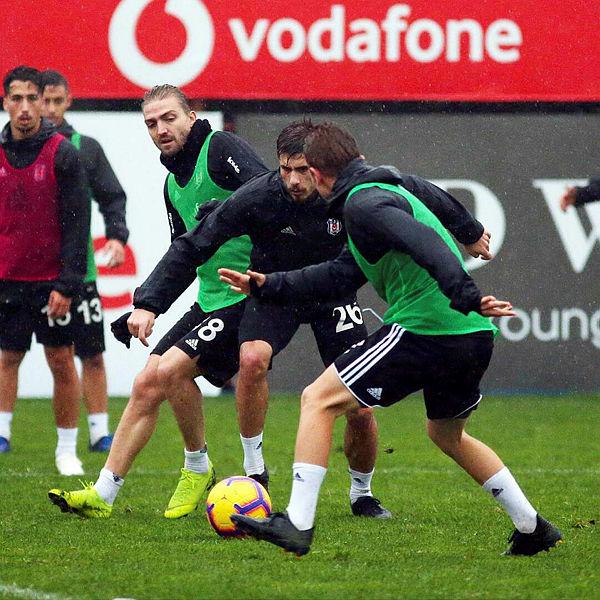 Beşiktaş'ta Ankaragücü maçı hazırlıkları devam ediyor