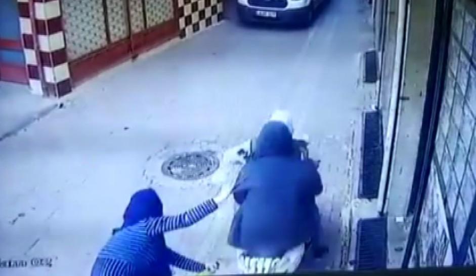 Çinli kadına Zeytinburnu'nda gasp şoku!