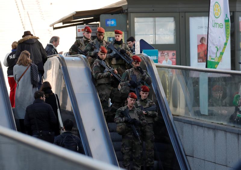 Fransa'da Strazburg saldırısıyla ilgili operasyon