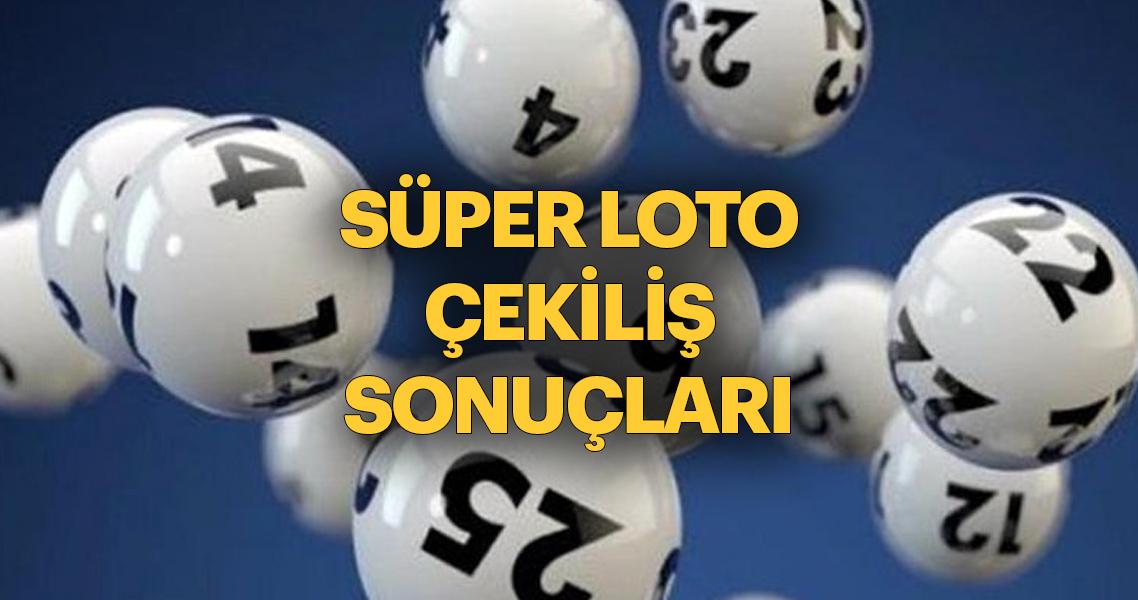 Son dakika haber: Süper Loto çekiliş sonuçları açıklandı! MPİ Süper Loto bilet sorgulama 13 Aralık