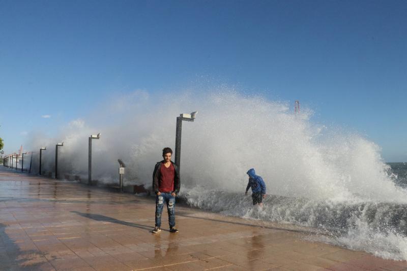 Akdeniz'de fırtına uyarısı