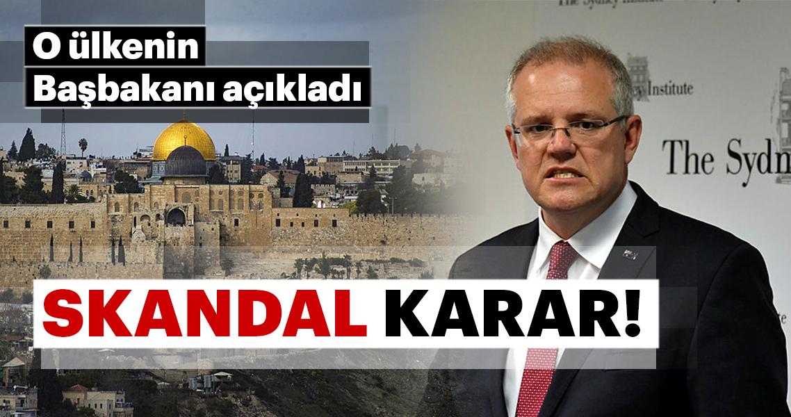 Avustralya'dan skandal İsrail kararı