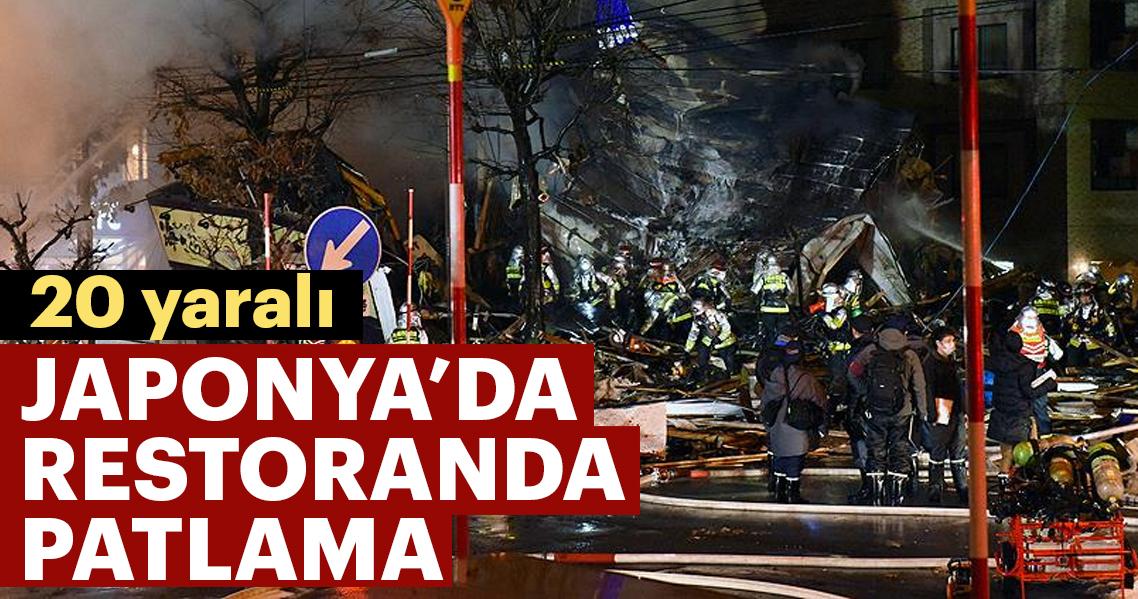 Japonya'da restoranda patlama: 20 yaralı