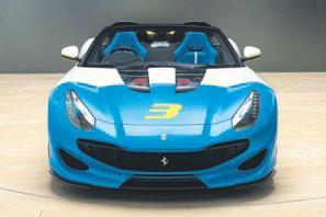 Kişiye özel Ferrari 1 adet üretildi