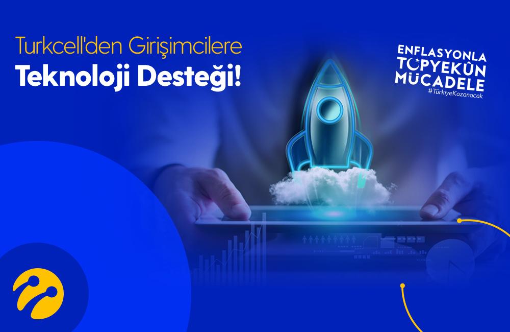 Turkcell'den dijital destek programı