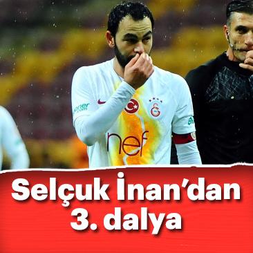 Selçuk İnan Galatasaray forması ile 300. maçına çıktı