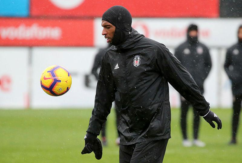 Beşiktaş'ta Ryan Babel antrenmana çıktı