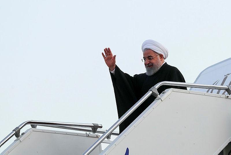 Son dakika: İran Cumhurbaşkanı Ruhani Türkiye'de