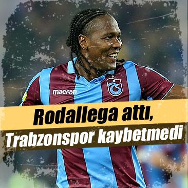 Rodallega attı, Trabzonspor kaybetmedi 83