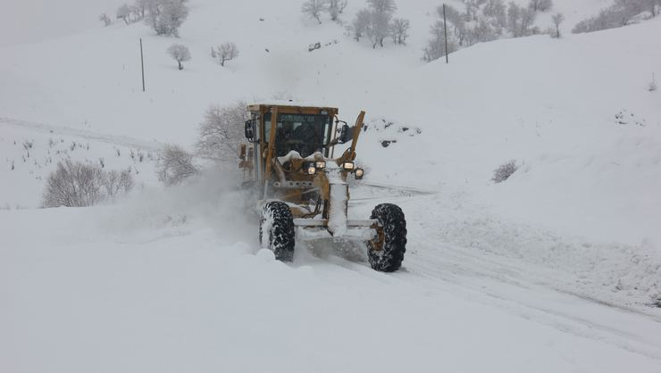 Bingöl'de 97 köy yolu ulaşıma kapandı